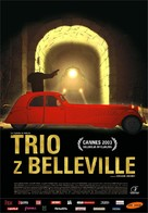 Les triplettes de Belleville - Polish Movie Poster (xs thumbnail)