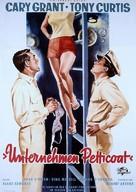 Operation Petticoat - German Movie Poster (xs thumbnail)
