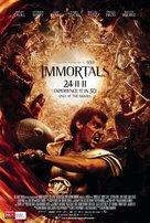 Immortals - Australian Movie Poster (xs thumbnail)