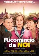 Finding Your Feet - Italian Movie Poster (xs thumbnail)