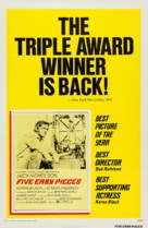 Five Easy Pieces - Re-release poster (xs thumbnail)