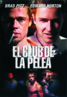 Fight Club - Argentinian DVD cover (xs thumbnail)