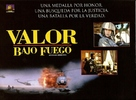 Courage Under Fire - Argentinian Movie Poster (xs thumbnail)