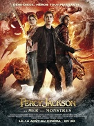 Percy Jackson: Sea of Monsters - French Movie Poster (xs thumbnail)