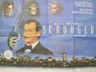 Scrooged - British Movie Poster (xs thumbnail)
