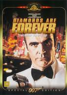 Diamonds Are Forever - Danish Movie Cover (xs thumbnail)