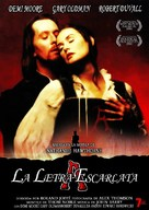 The Scarlet Letter - Spanish DVD movie cover (xs thumbnail)