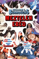 Naked Lunch - Hungarian Movie Poster (xs thumbnail)