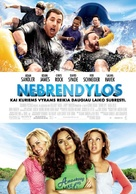 Grown Ups - Lithuanian Movie Poster (xs thumbnail)