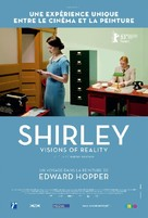 Shirley: Visions of Reality - French Movie Poster (xs thumbnail)