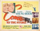 Come to the Stable - Movie Poster (xs thumbnail)
