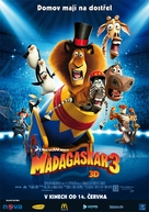 Madagascar 3: Europe's Most Wanted - Czech Movie Poster (xs thumbnail)