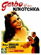 Ninotchka - French Movie Poster (xs thumbnail)