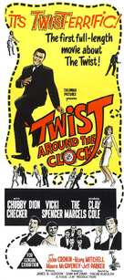 Twist Around the Clock - Australian Movie Poster (xs thumbnail)