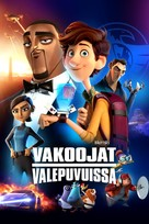 Spies in Disguise - Finnish Movie Cover (xs thumbnail)