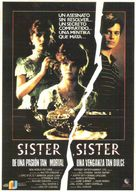 Sister, Sister - Spanish Movie Poster (xs thumbnail)