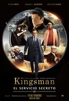 Kingsman: The Secret Service - Argentinian Movie Poster (xs thumbnail)