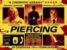 Piercing - British Movie Poster (xs thumbnail)