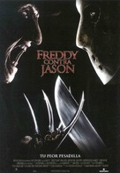 Freddy vs. Jason - Spanish Movie Poster (xs thumbnail)