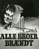 Six Bridges to Cross - Danish Movie Poster (xs thumbnail)