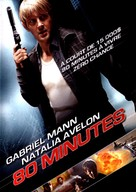 80 Minutes - French DVD cover (xs thumbnail)