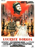 Lucrèce Borgia - French Movie Poster (xs thumbnail)