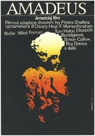 Amadeus - Czech Movie Poster (xs thumbnail)