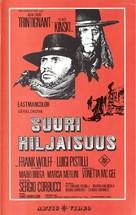 Il grande silenzio - Finnish VHS cover (xs thumbnail)