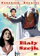 Lo sceicco bianco - Polish DVD movie cover (xs thumbnail)