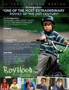 Boyhood - For your consideration movie poster (xs thumbnail)