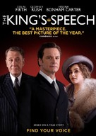 The King's Speech - DVD cover (xs thumbnail)