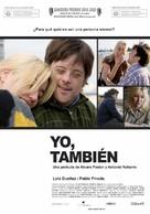 Yo, también - Colombian Movie Poster (xs thumbnail)