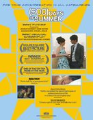 (500) Days of Summer - For your consideration movie poster (xs thumbnail)
