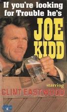 Joe Kidd - British VHS movie cover (xs thumbnail)