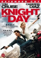 Knight and Day - Danish Movie Cover (xs thumbnail)