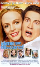 Say It Isn't So - Argentinian Movie Poster (xs thumbnail)