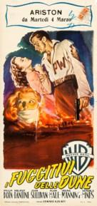 Escape in the Desert - Italian Movie Poster (xs thumbnail)