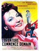L'aventure commence demain - French Movie Poster (xs thumbnail)