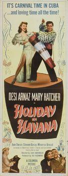Holiday in Havana - Movie Poster (xs thumbnail)