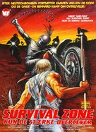 Survival Zone - Danish Movie Poster (xs thumbnail)