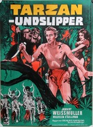 Tarzan Escapes - Danish Movie Poster (xs thumbnail)