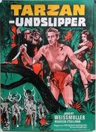 Tarzan Escapes - Danish Movie Poster (xs thumbnail)