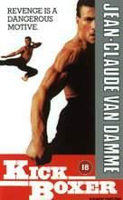 Kickboxer - British Movie Cover (xs thumbnail)