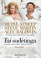 It's Complicated - Lithuanian Movie Poster (xs thumbnail)