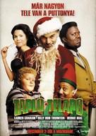 Bad Santa - Hungarian Movie Poster (xs thumbnail)