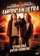American Ultra - Czech DVD movie cover (xs thumbnail)