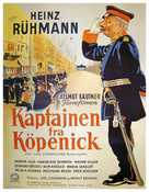 Hauptmann von Köpenick, Der - Danish Movie Poster (xs thumbnail)