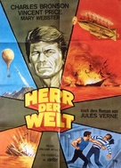 Master of the World - German Movie Poster (xs thumbnail)