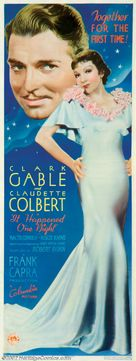 It Happened One Night - Theatrical movie poster (xs thumbnail)