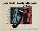 Klute - Movie Poster (xs thumbnail)
